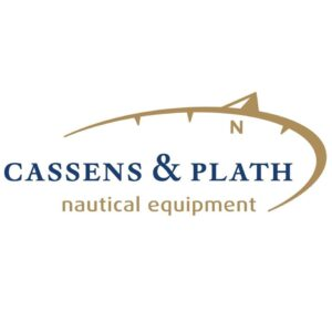 logotipo de Cassens & plath nautical equipement