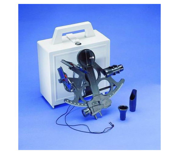Caja del sextante Mark 15 MAster de DAvis Instruments